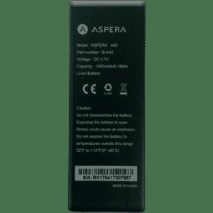 Aspera A42 Battery