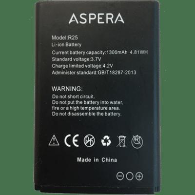 Aspera R25 Battery