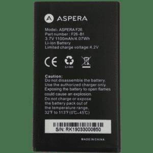Aspera F26 Battery