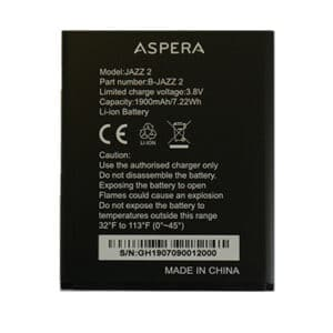Aspera Jazz 2 Battery